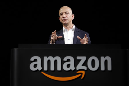 Jeff Bezos : Founder of Amazon.com